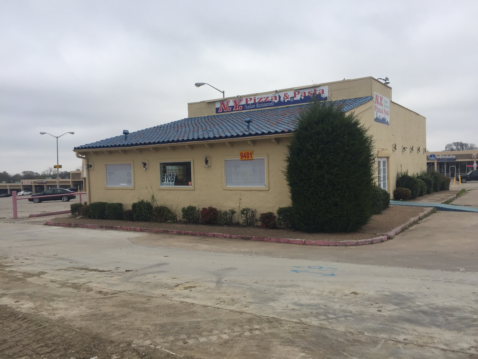 Former NY Joe's Pizza - Ground Lease Opportunity    9481 Benbrook Blvd, Benbrook, TX 76126