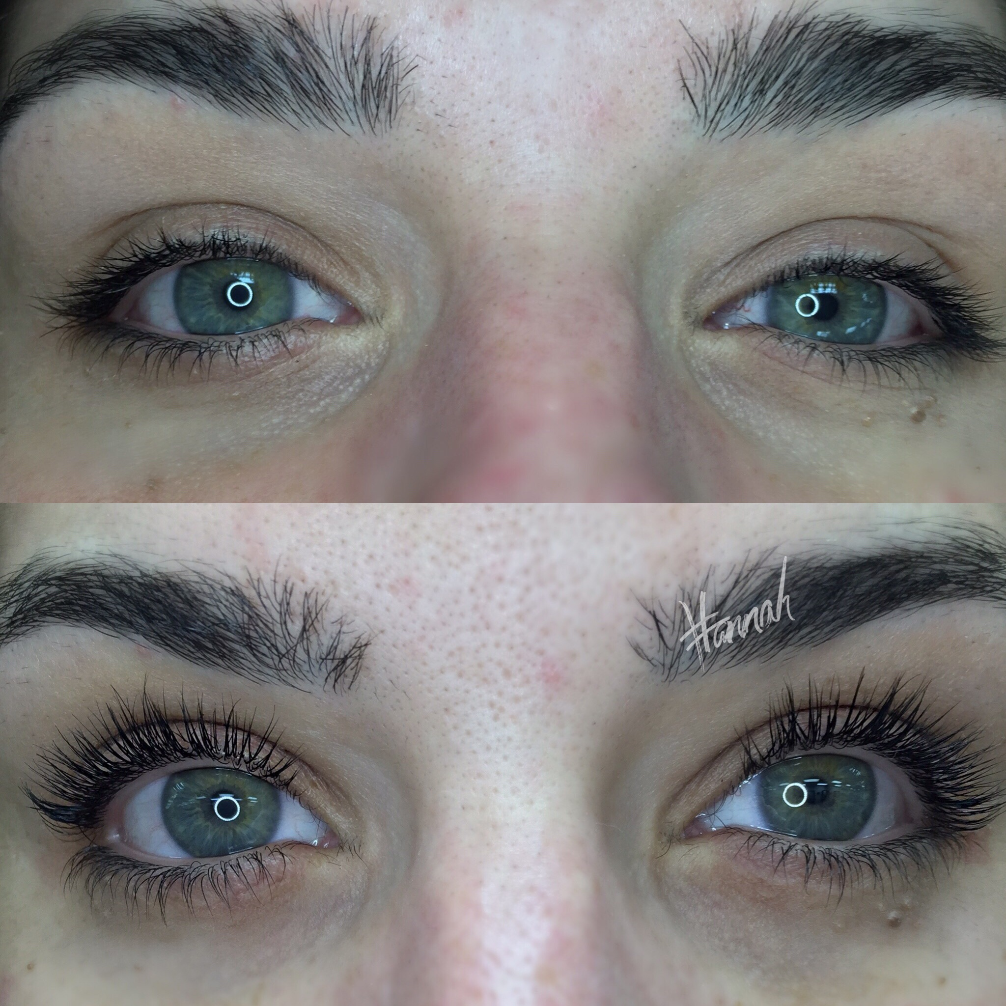 Before & After Lift + SPM (top lashes only)