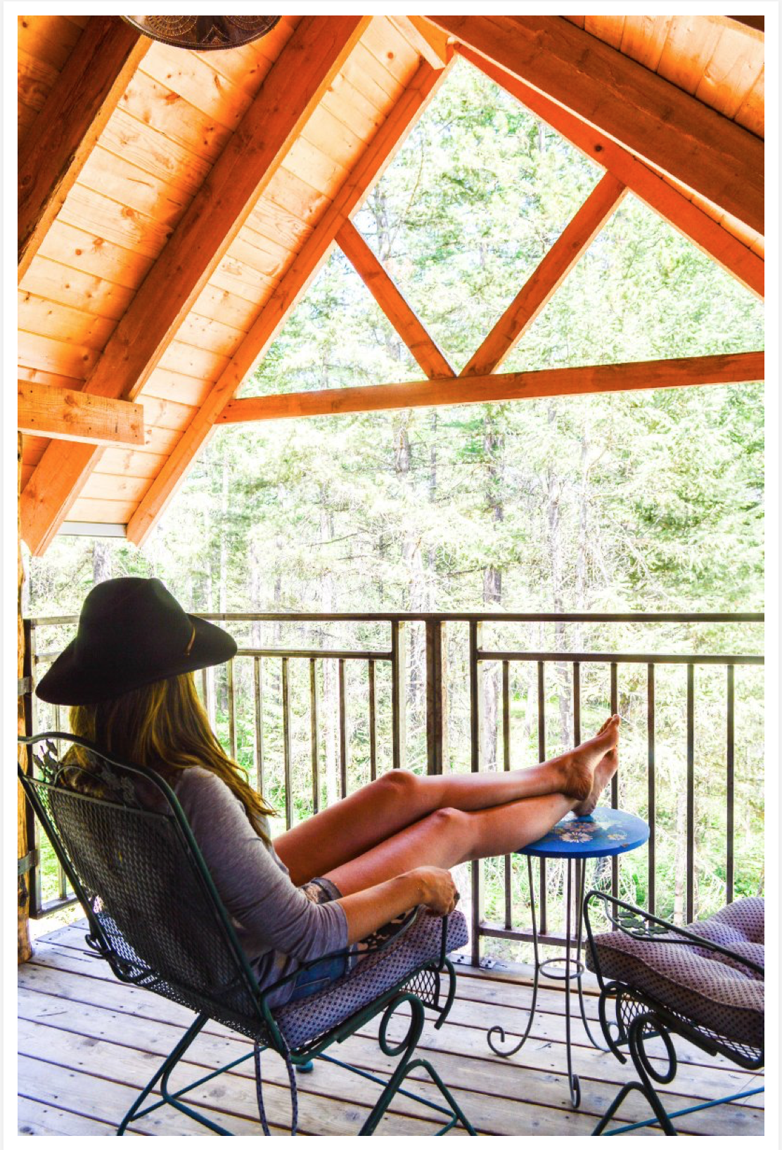 Montana Treehouse Retreat Outside Magazine