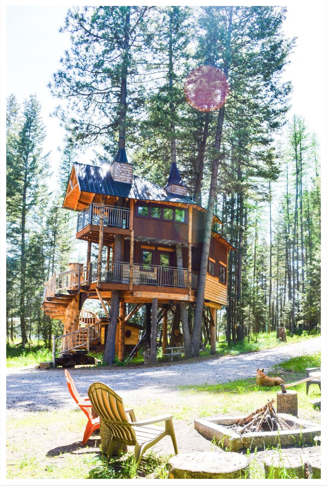 Montana Treehouse Retreat Outside Magazine 3