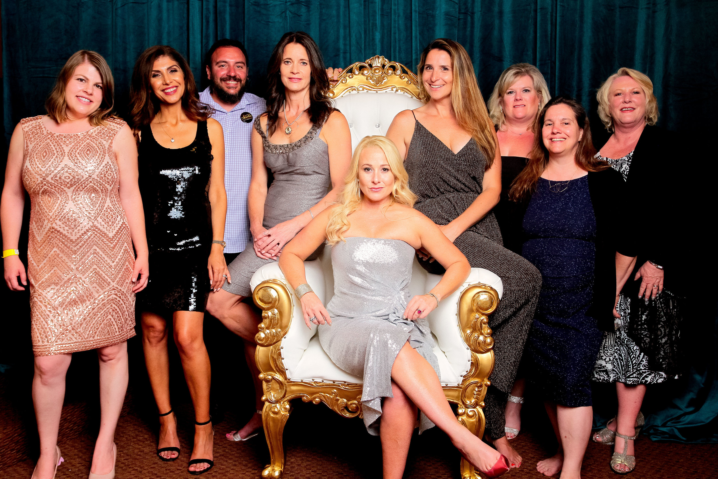 (L to R) Rachel Larsen - Director of Sparkle Sacramento, Farimah Erlandson - Director of Enrichment, Robert Santanastasio - Director of Sparkle Los Angeles, Lizi Parker Cruz - Director of Marketing, Samantha Tradelius - Executive Director, Brooke Suhler Palizi - Director of Communications, Stacey Carter Fleece - Director of Impact, Tracy Teale - Director of Finance, Barbara Luhrs -  Director of Operations