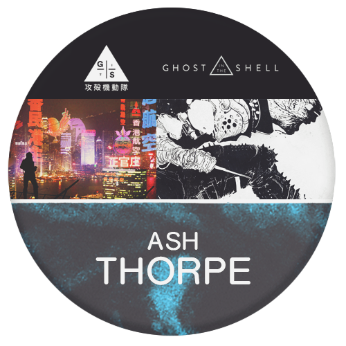 Ash Thorp director and designer for Ghost in the Shell, films and games