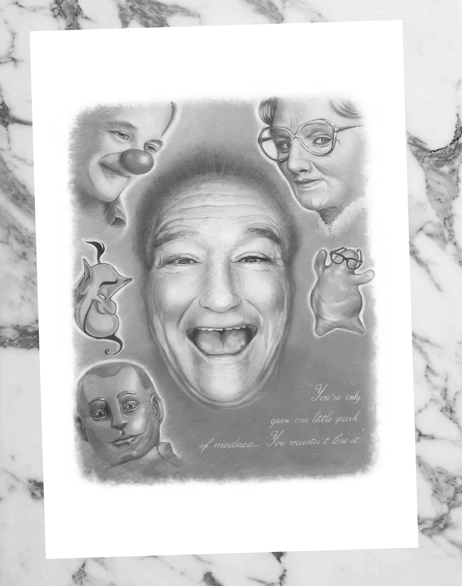 Robin Williams Limited Edition Print