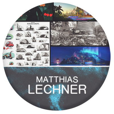 Matthias Lechner art director and artist for animation