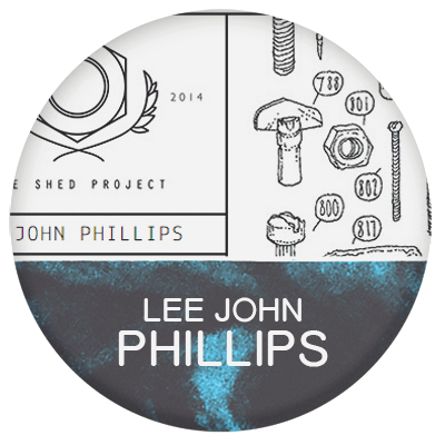 Lee John Phillips and the shed project illustrator