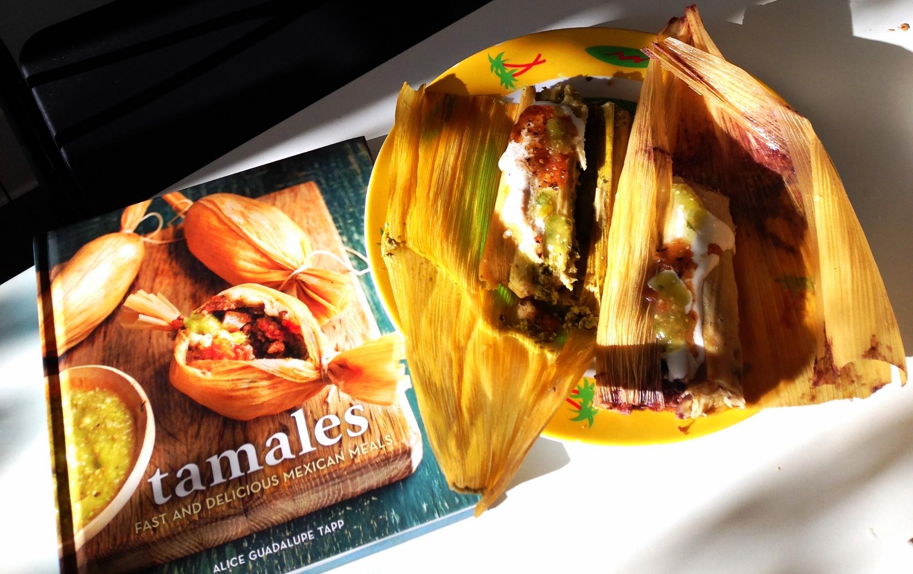 pesto & Jalapeno tamales