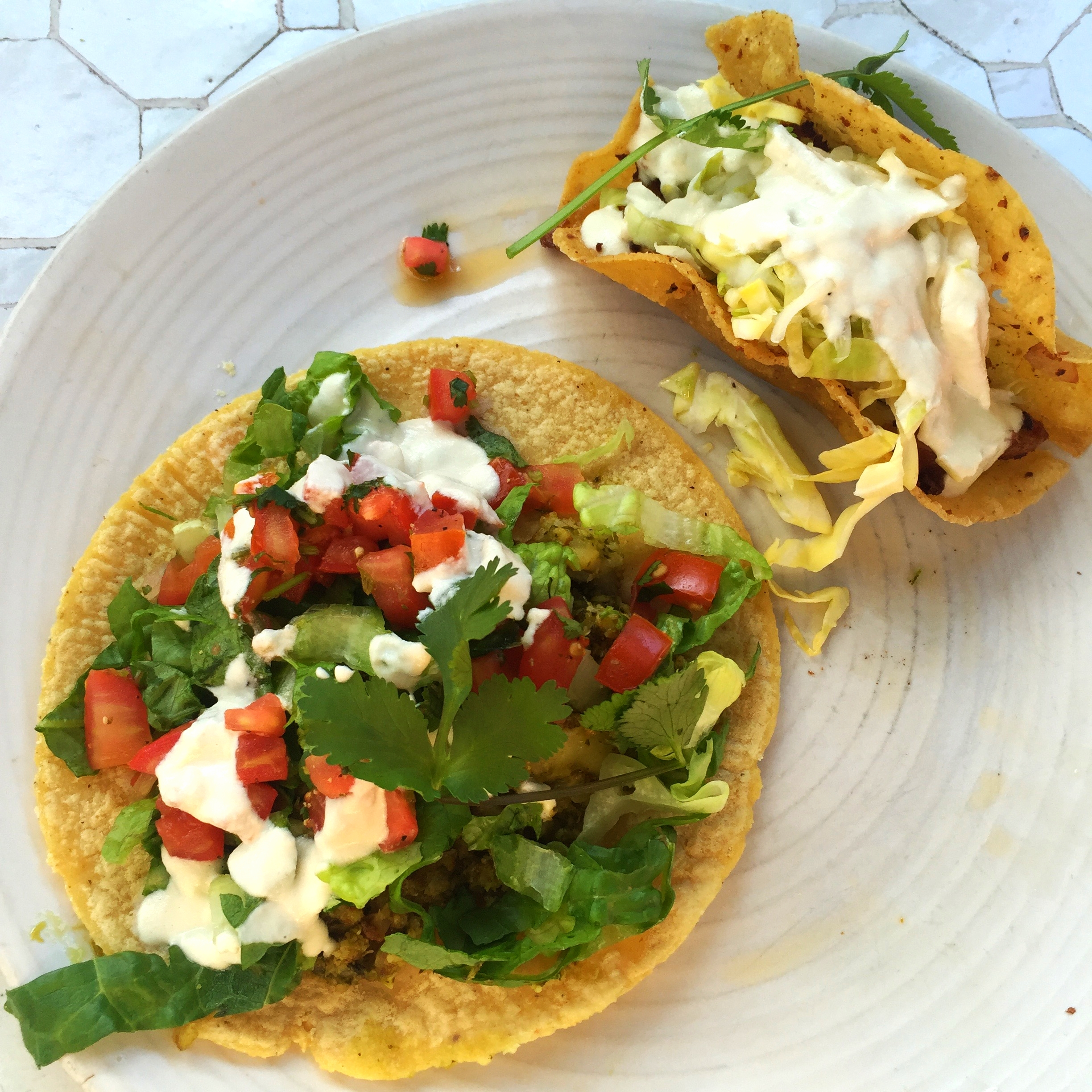Cauliflower taco