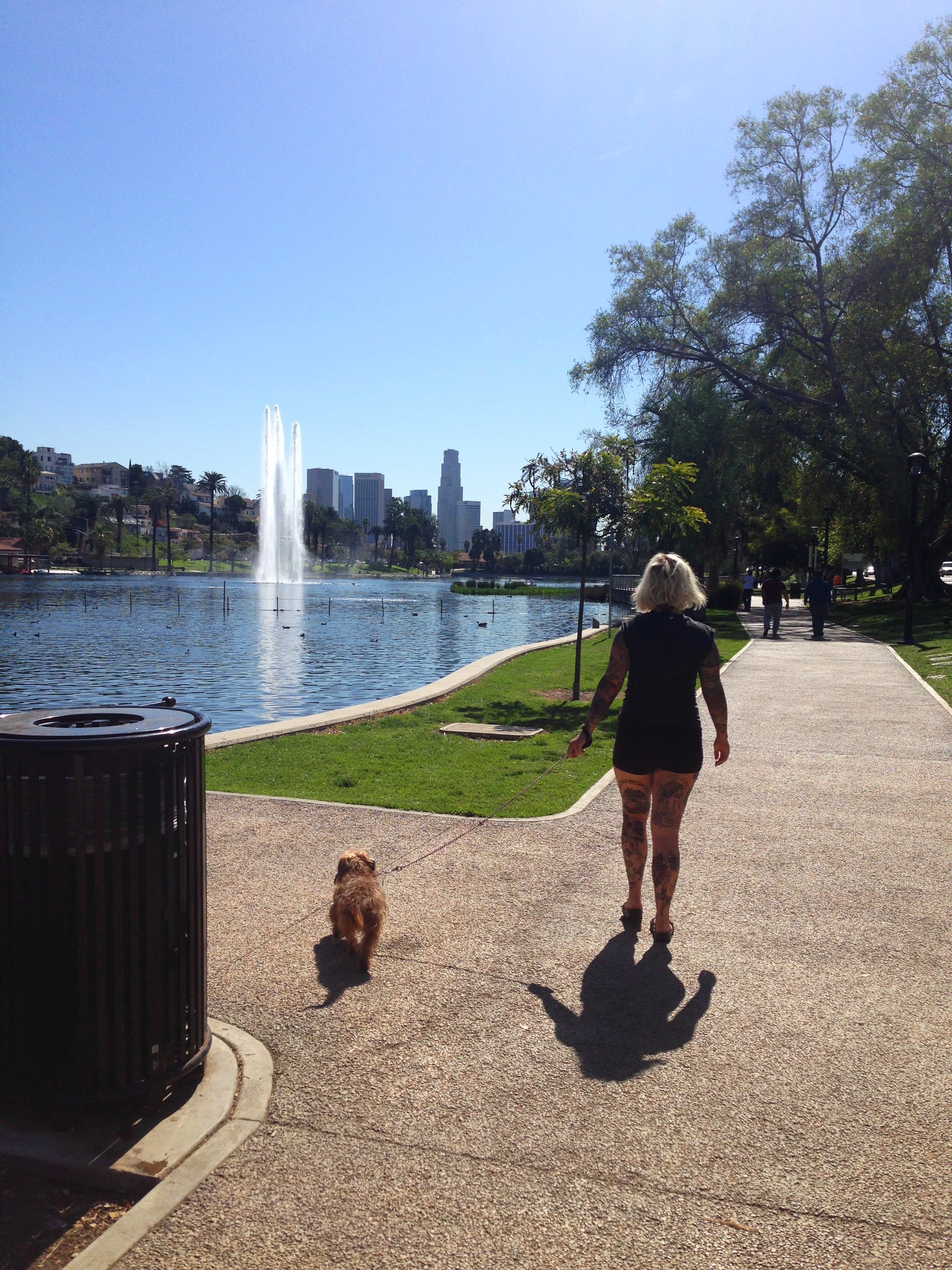 Glennie and Edie @ Echo park