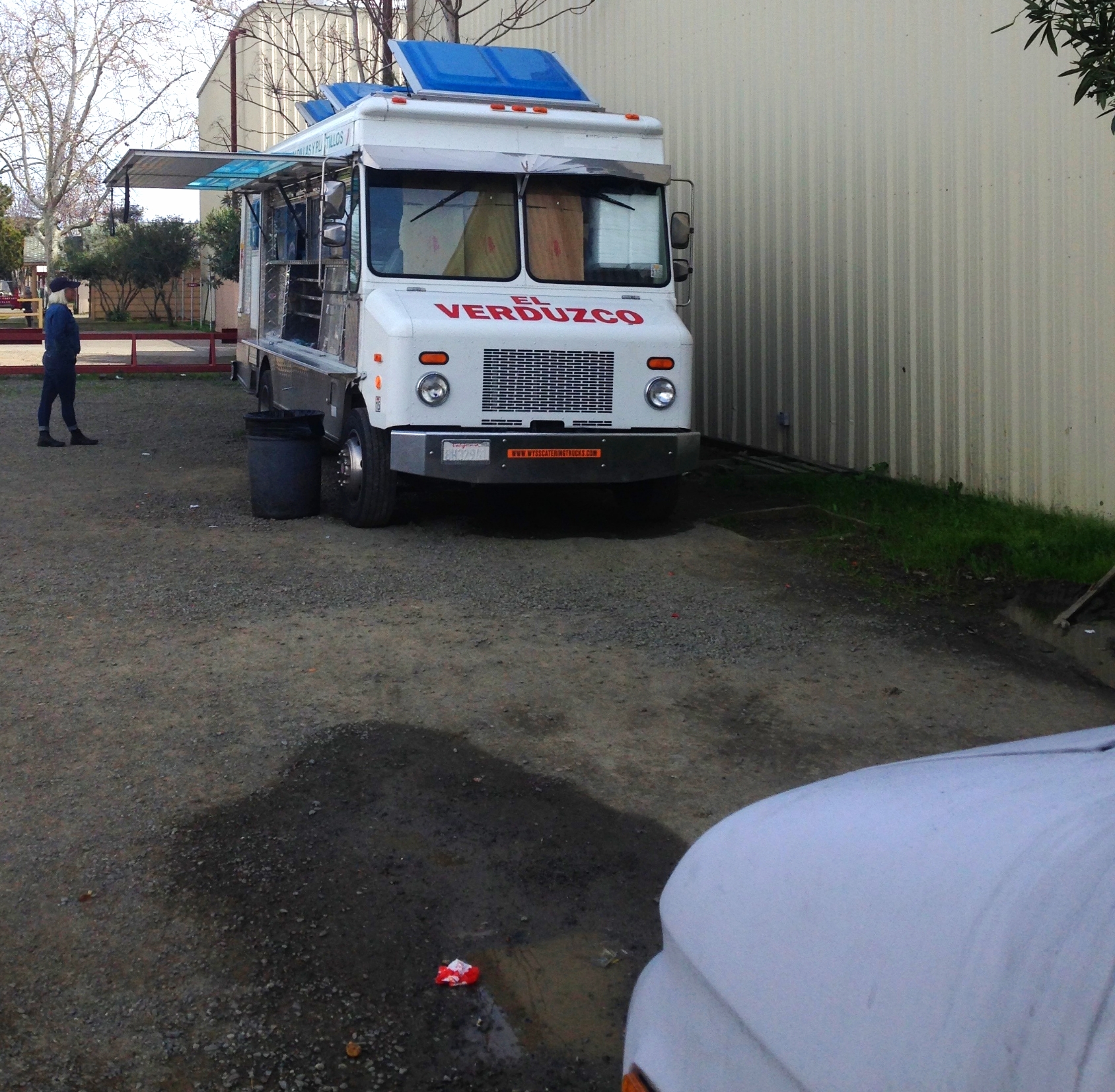 Taco truck in Winters, CA
