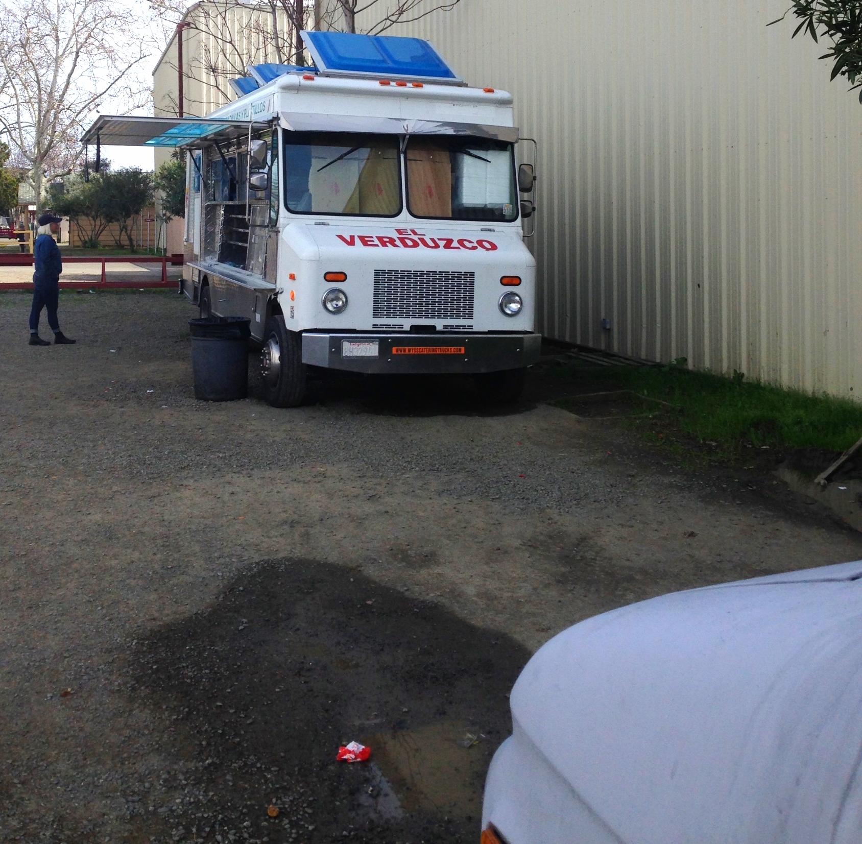Taco truck in Winters, CA