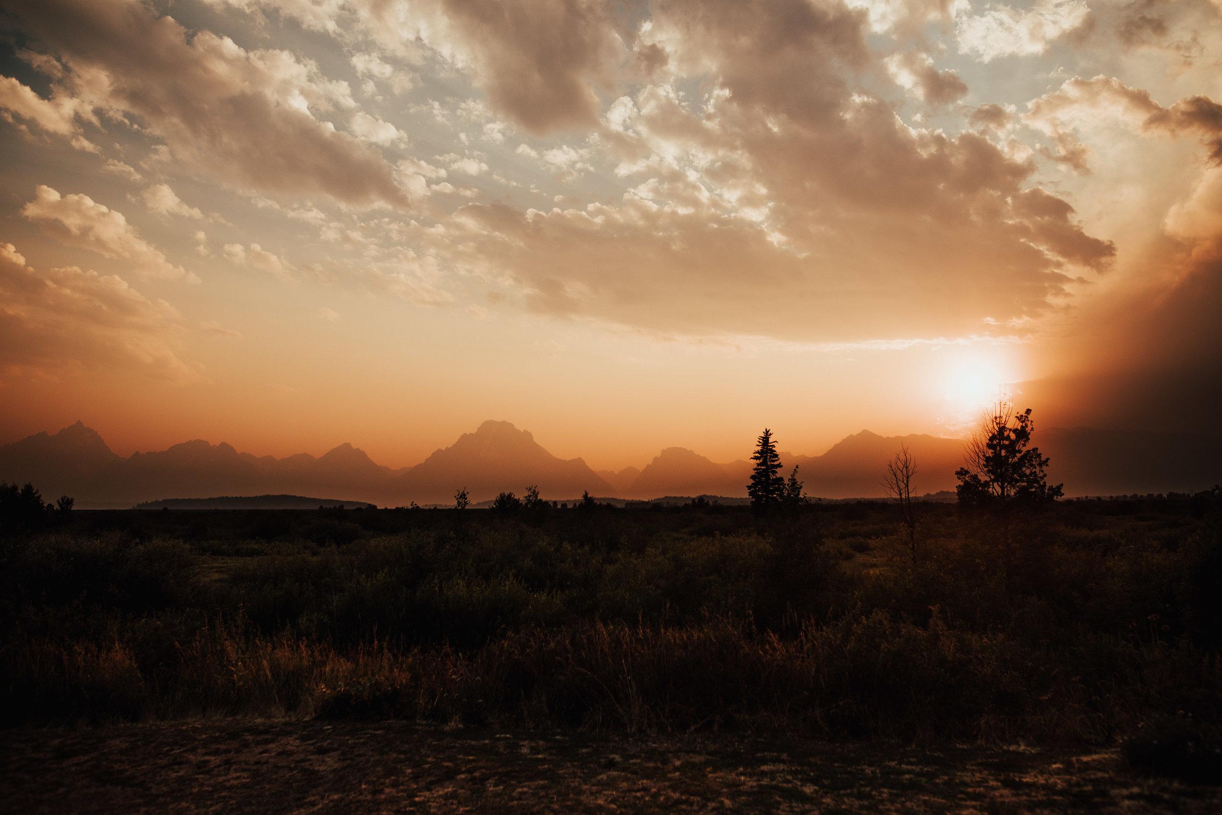Wyoming-Teton-Sunset