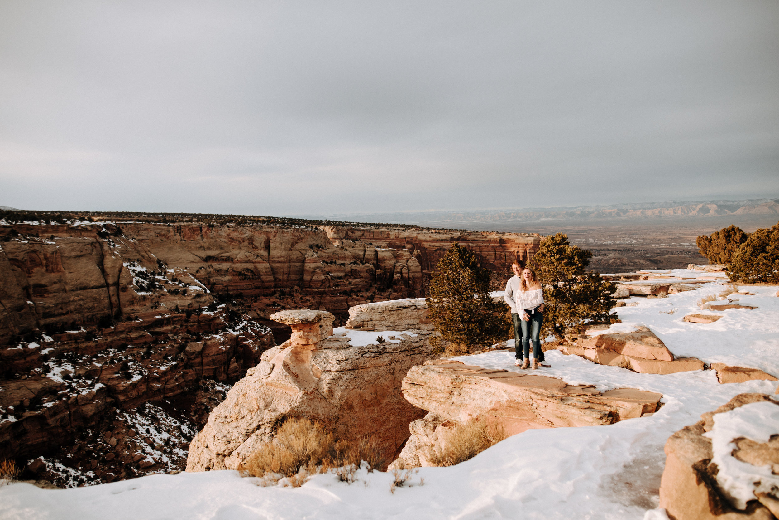 Adventurous Outdoor Engagement Photography in Grand Junction