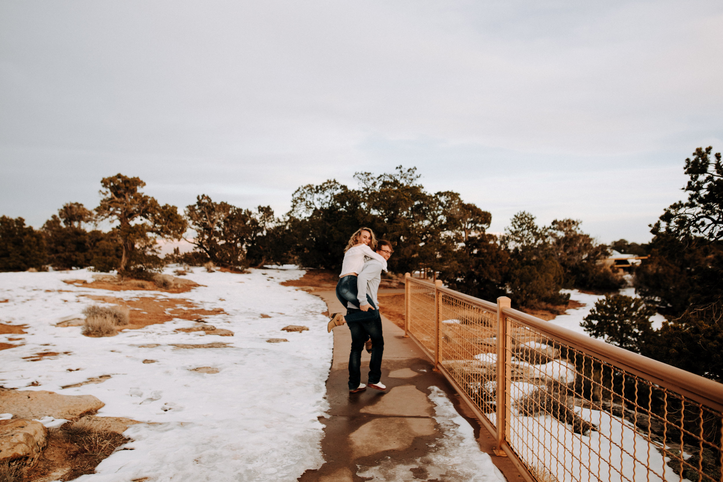 Colorado National Monument Engagement Photography