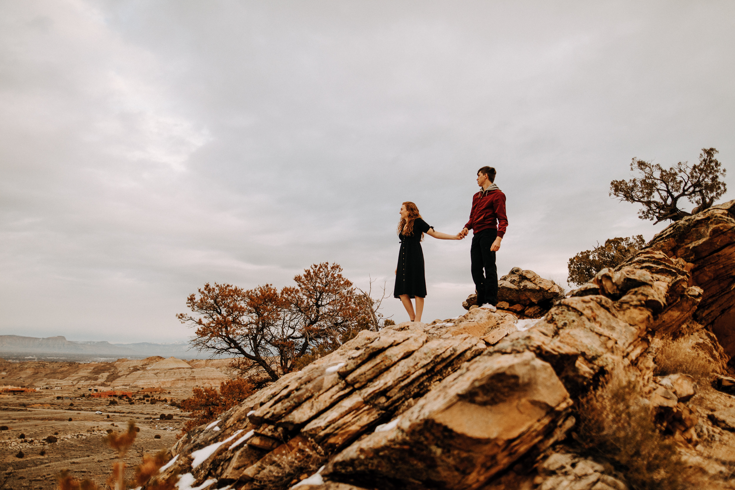 Grand Junction Adventurous Couple Session | Zoë + Brannan