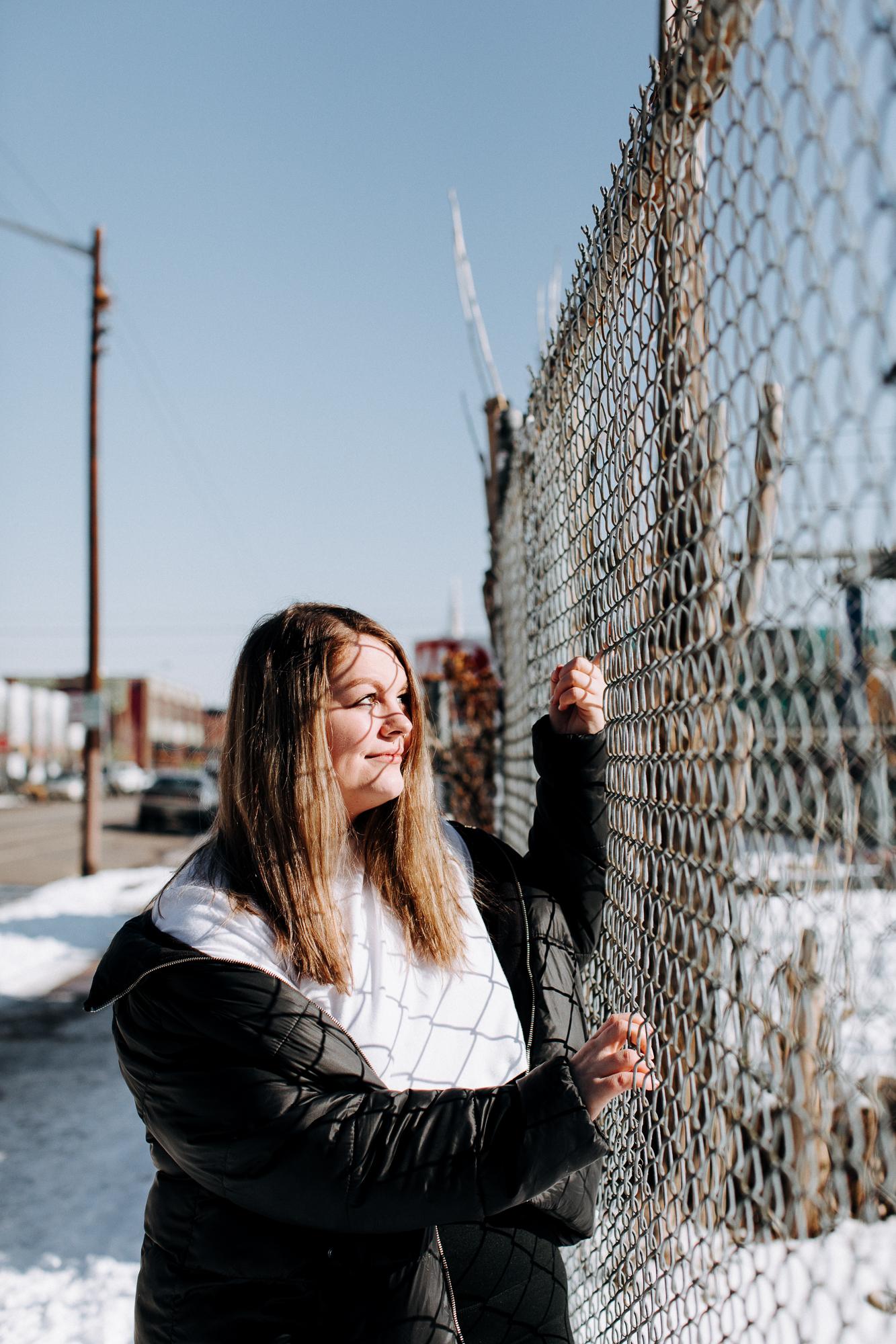 Imac Building | Places to Shoot Portraits in Denver Colorado