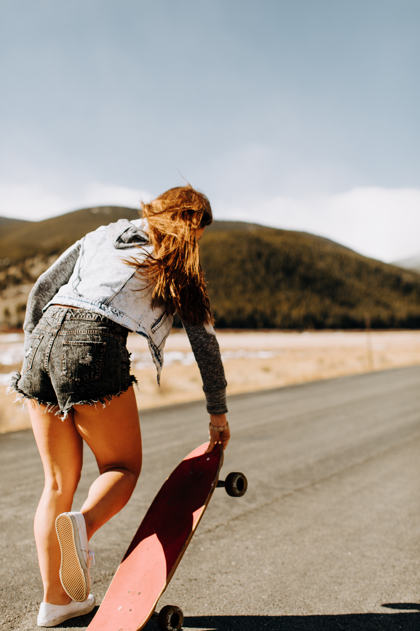 Guanella Pass Skateboarding Photoshoot with Memory   Colorado Adventures