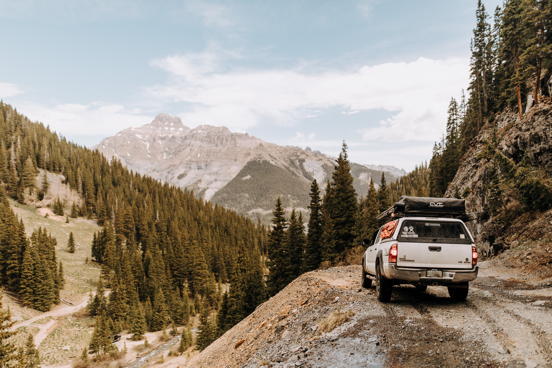 The Ultimate 10 Day Road Trip Through Colorado | Ouray and Imogene Pass
