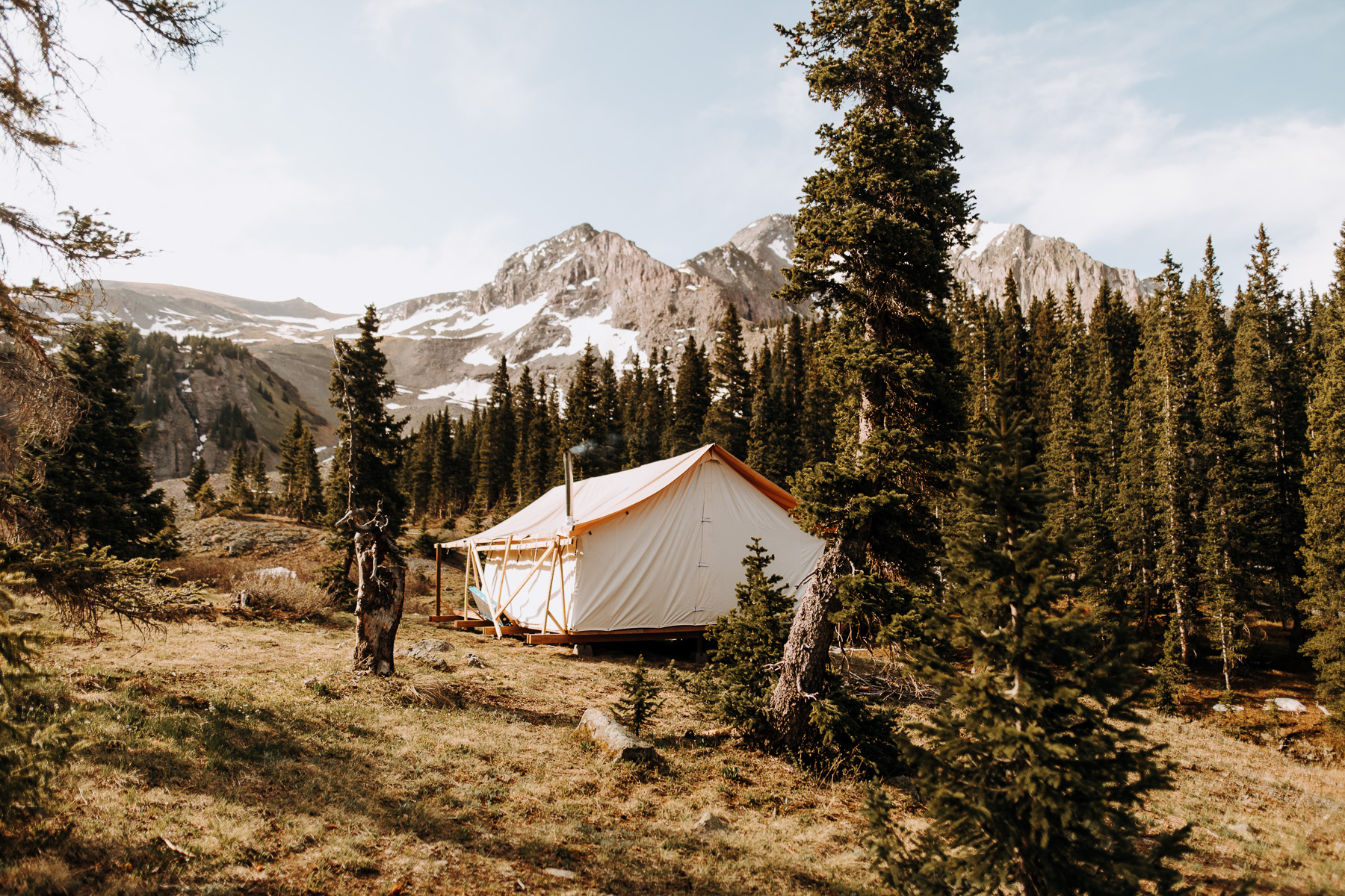 The Ultimate 10 Day Road Trip Through Colorado | Catered Glamping Imogene Pass Ouray