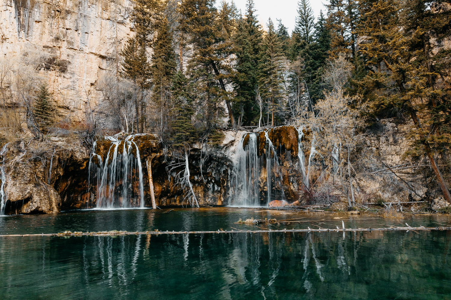 The Ultimate 10 Day Road Trip Through Colorado | Hanging Lake Trailhead in Glenwood Springs