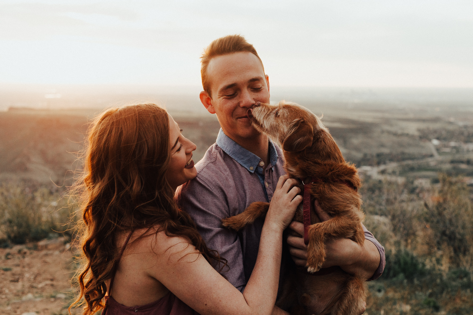 Lookout Mountain Adventure Couple Session