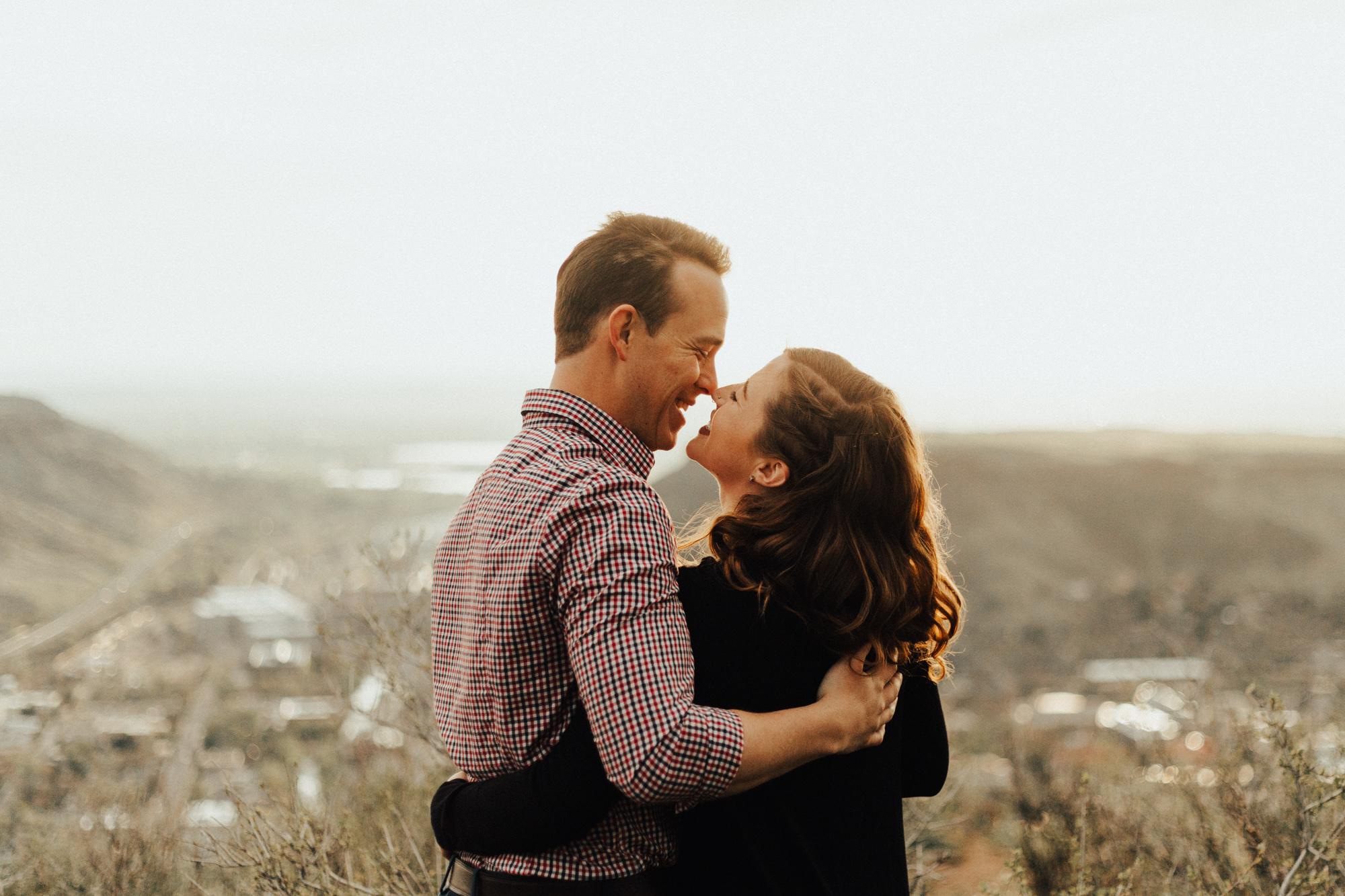 Lookout Mountain Colorado Adventure Couple Portrait Session