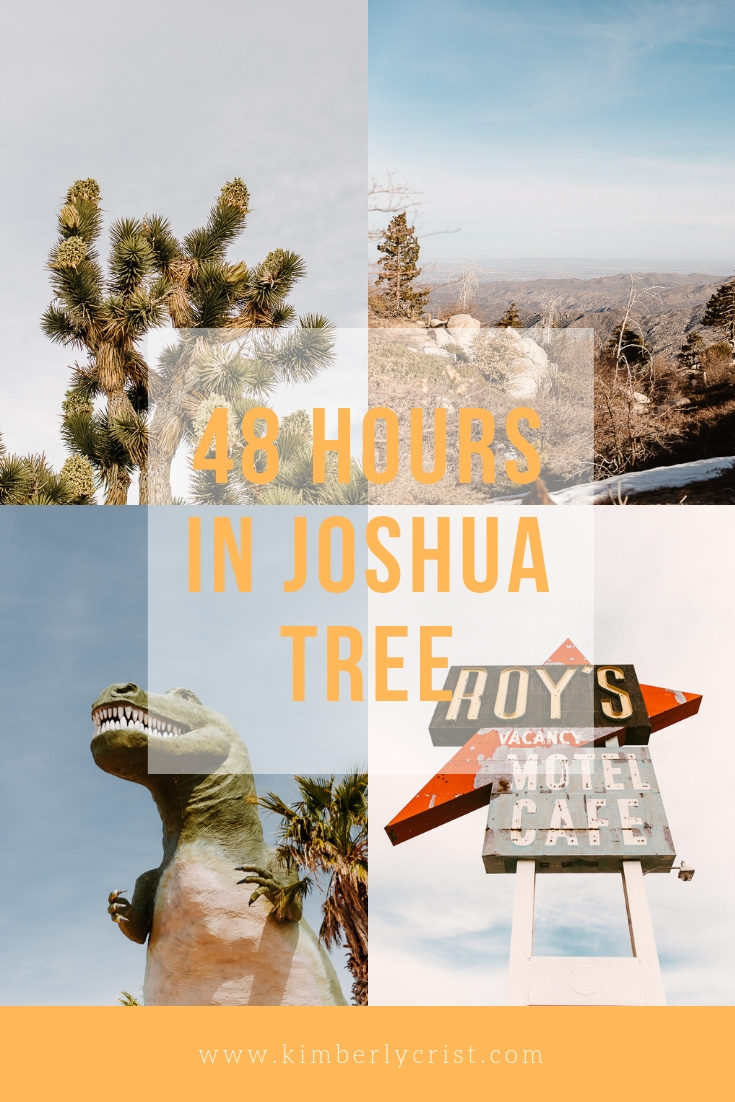 What to do if you have 48 hours in Joshua Tree, California