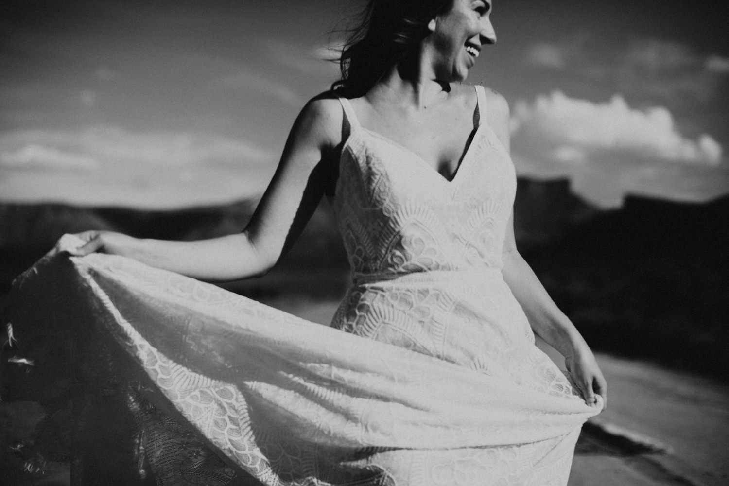 Annelise Bridal and Utah Elopement Photographer Kimberly Crist Moab Styled Shoot