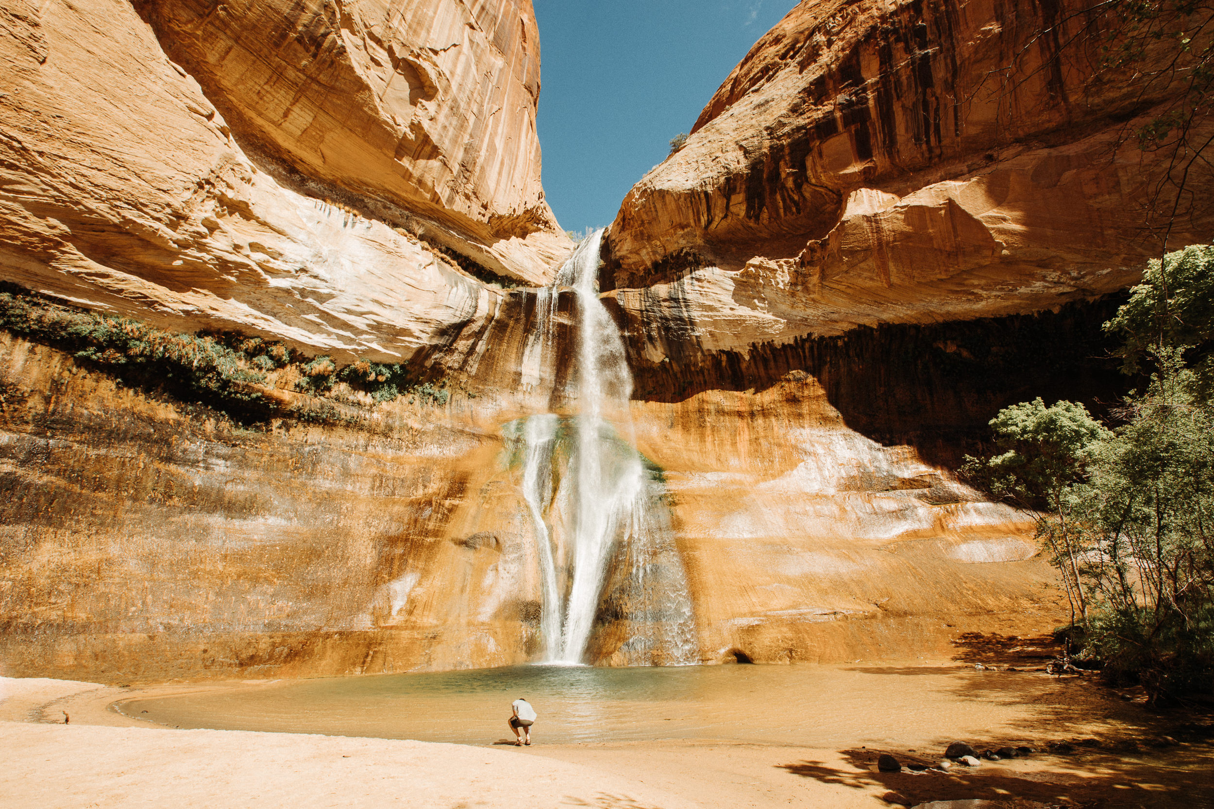 Calf Creek Falls in Grand Staircase-Escalante National Monument