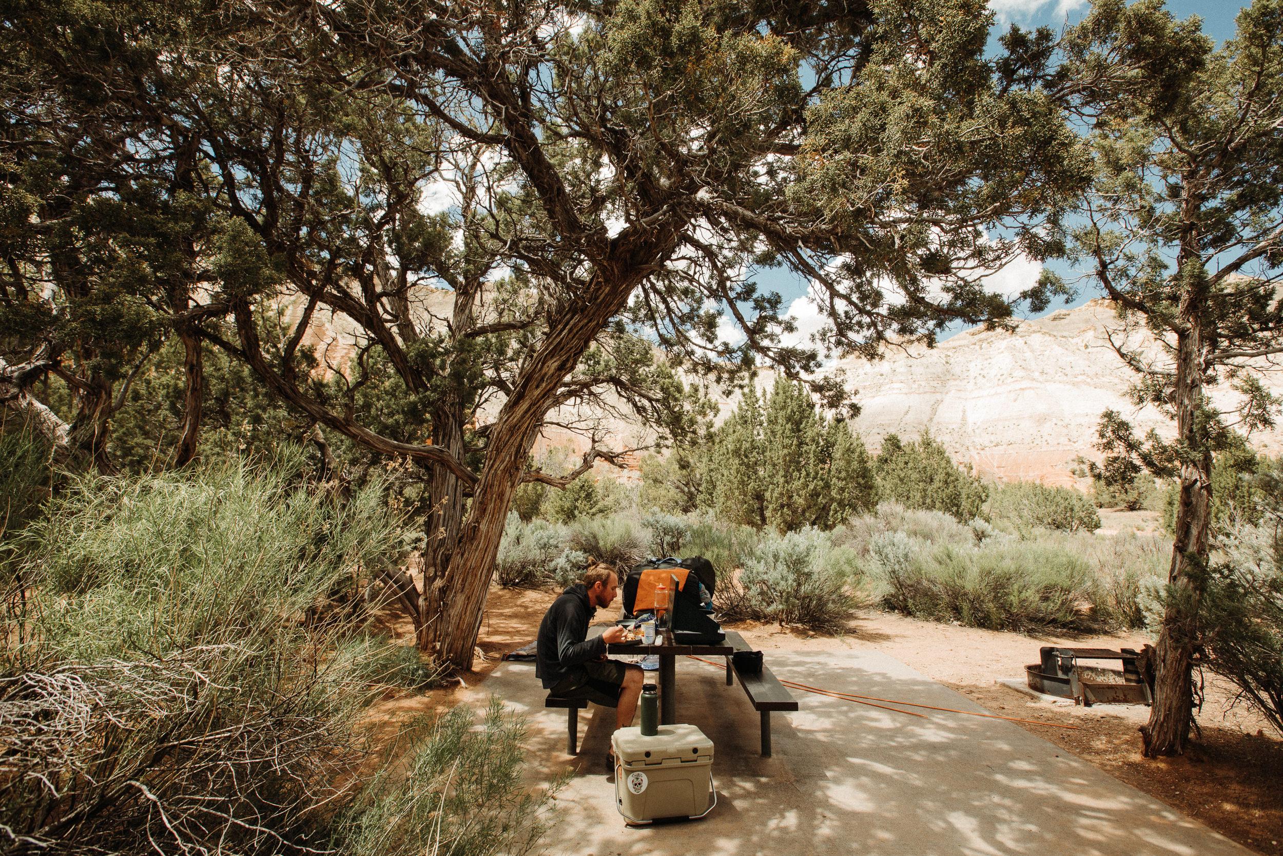 Kodachrome Basin State Park campground