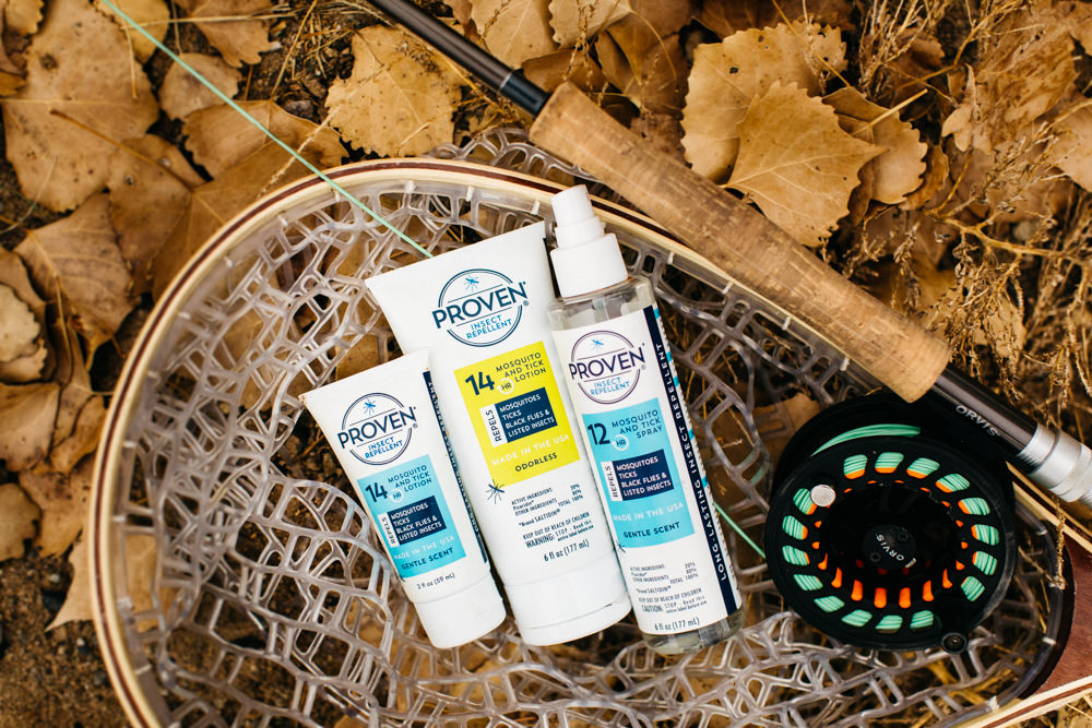 Proven Insect Repellent product lifestyle photographer for the western slope of Colorado