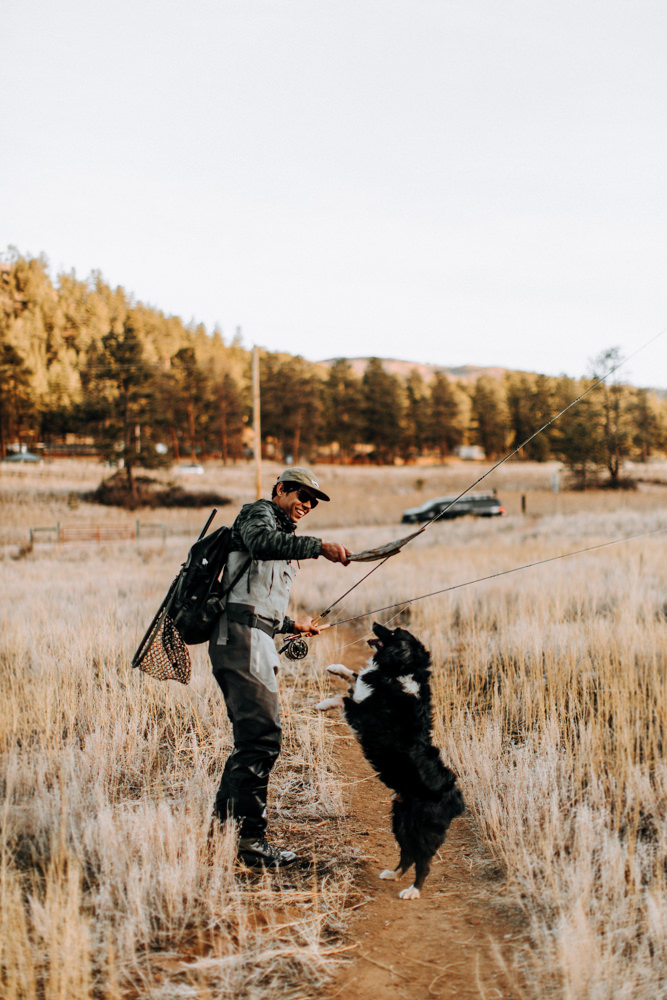 Colorado Fly fishing lifestyle photographer