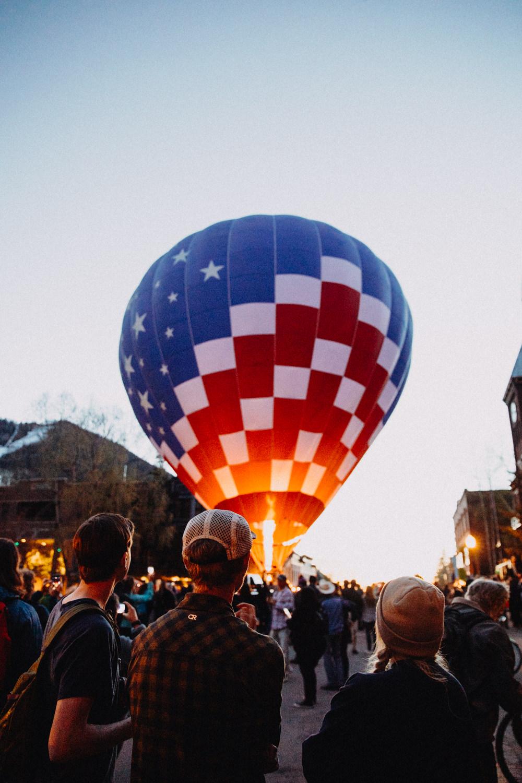 Telluride Balloon Festival Morning Glow