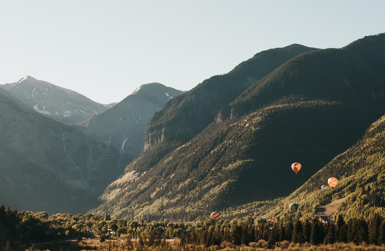 Telluride Hot Air Balloon Festival