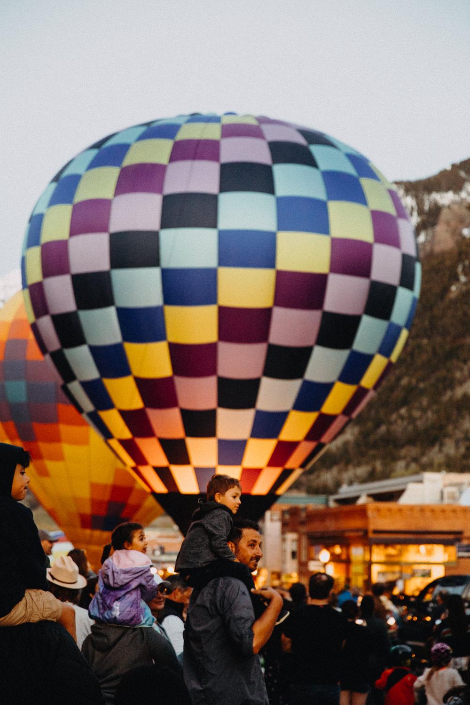 hot air balloon festival colorado
