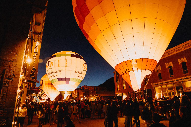 Telluride hot air balloon festival 2019