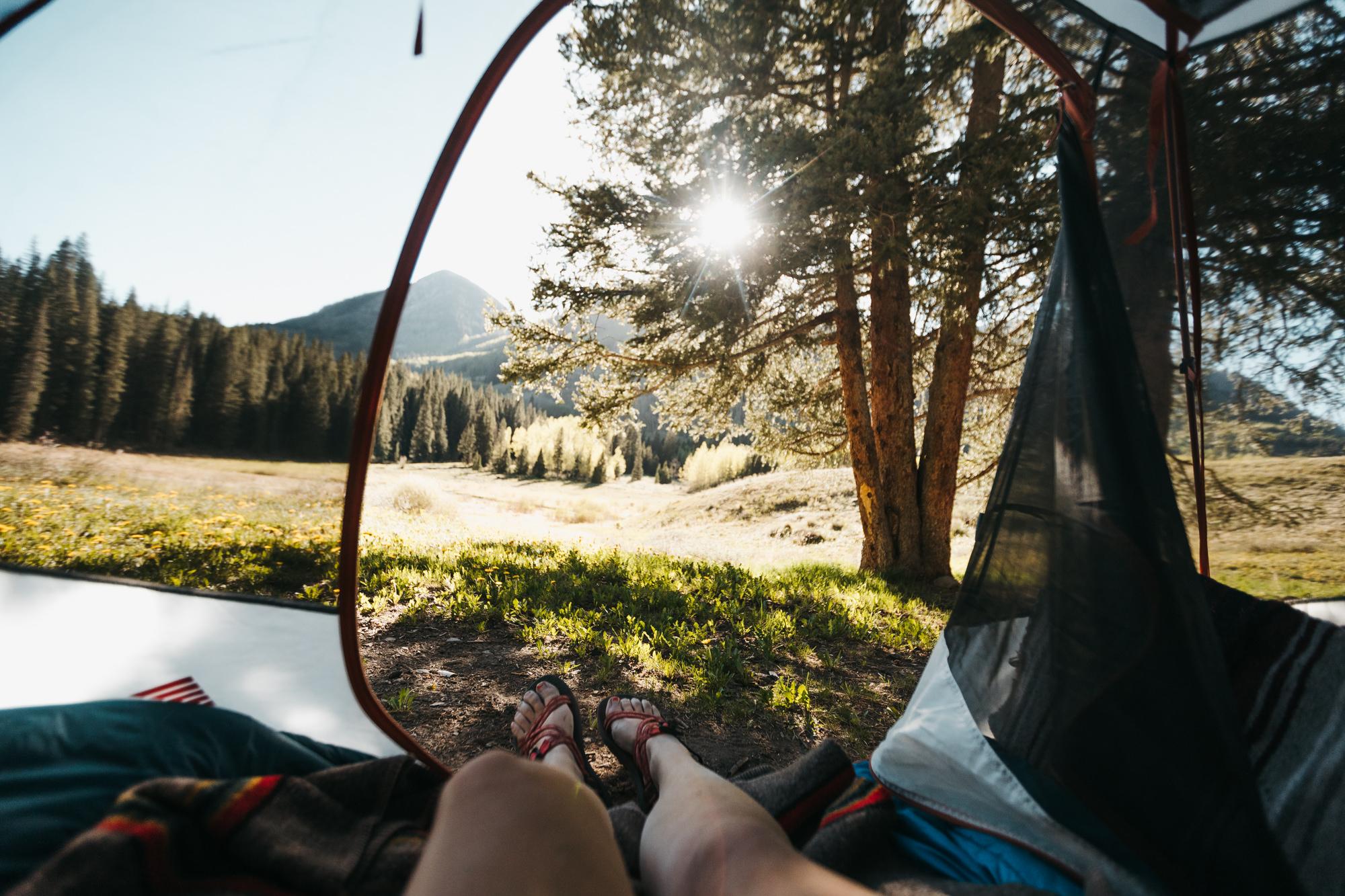Lizard Head Pass camping