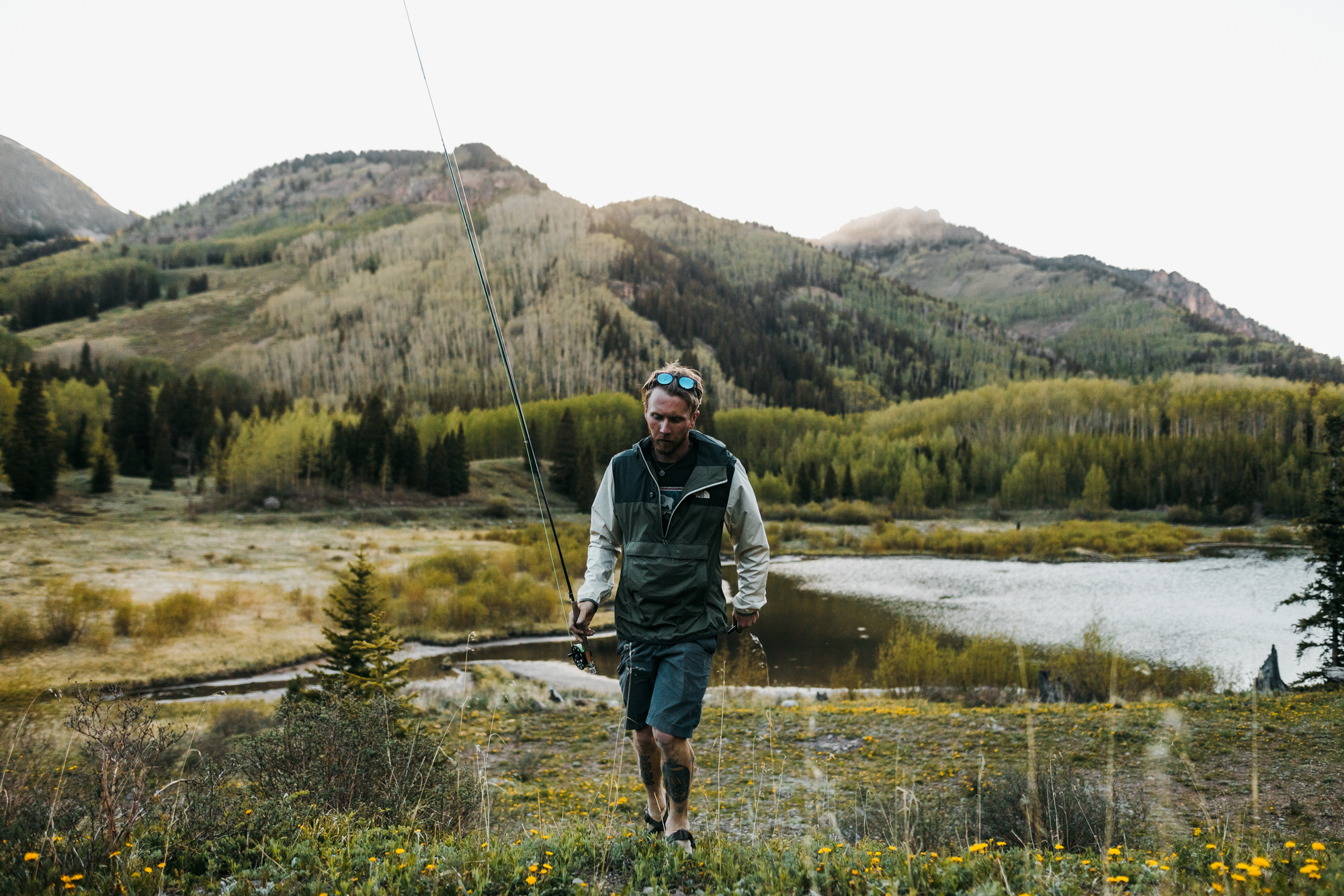 Fly fishing in Telluride Colorado