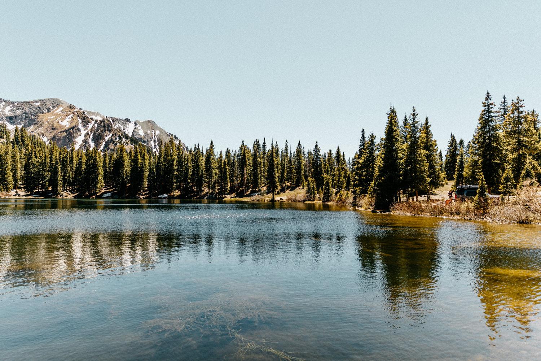 Gold Creek camping at Alta Lakes Ophir