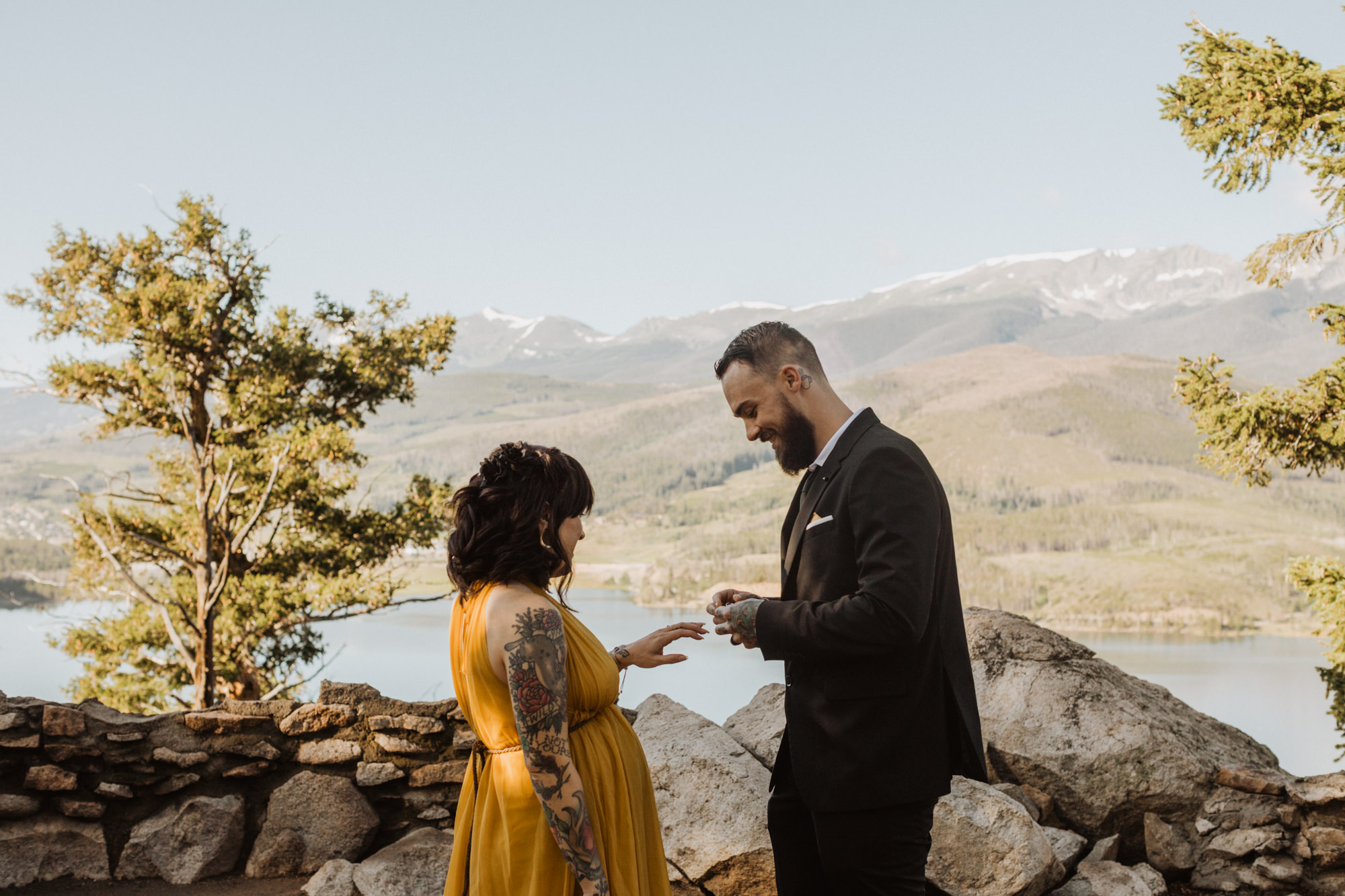 Sapphire Point Breckenridge Colorado Mountain Elopement