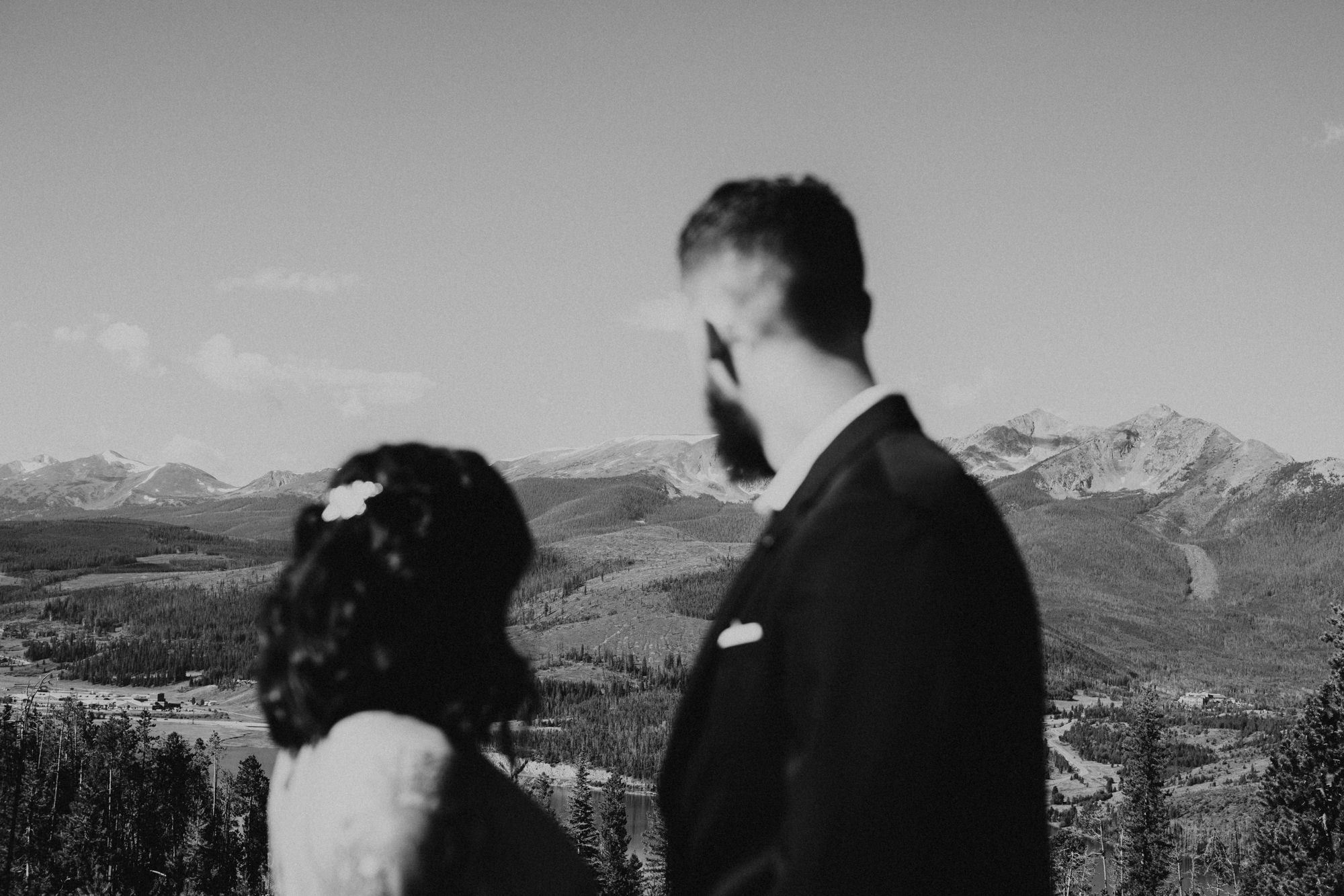 Breckenridge elopement at Sapphire Point