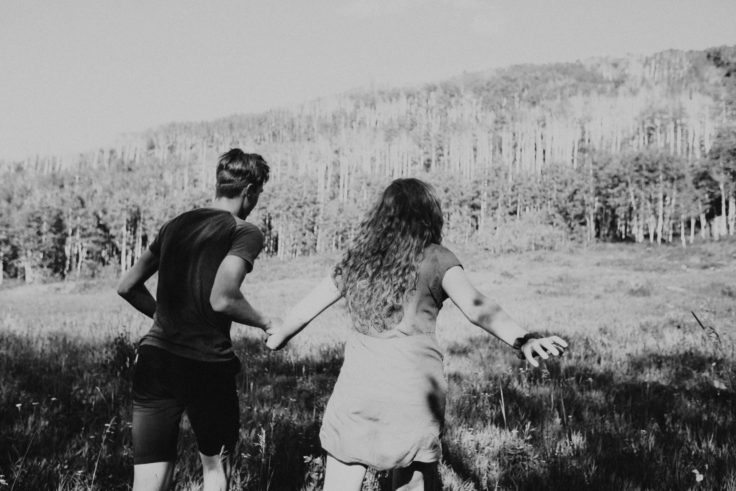 Adventure Couple Photoshoot Session on the Grand Mesa Colorado