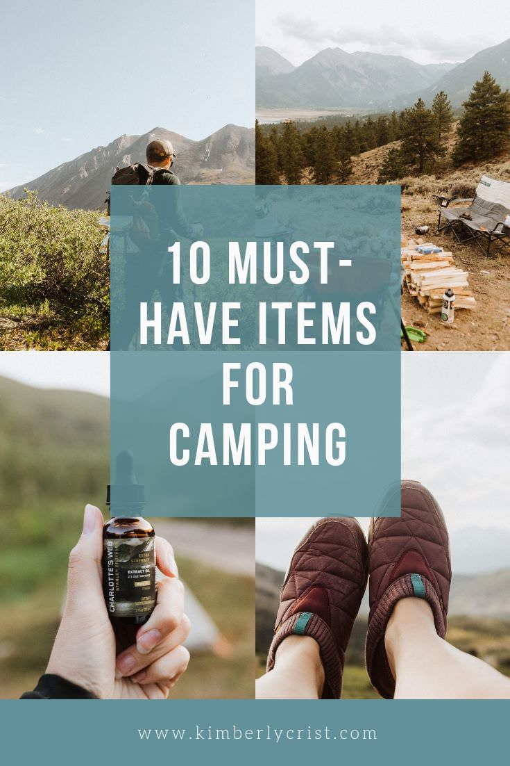 Most Popular Camping Items