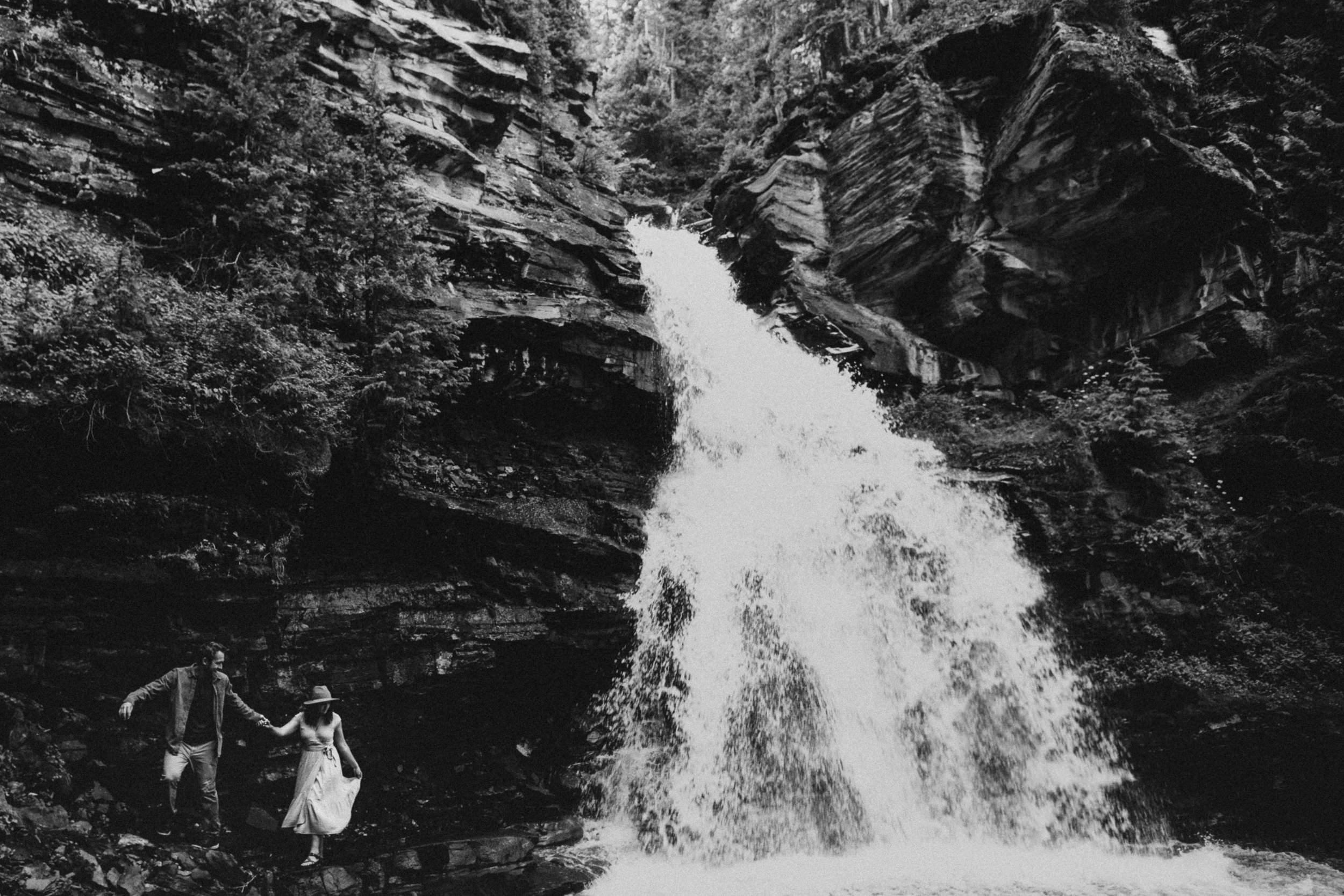 Silverton Waterfall Adventure Photographer