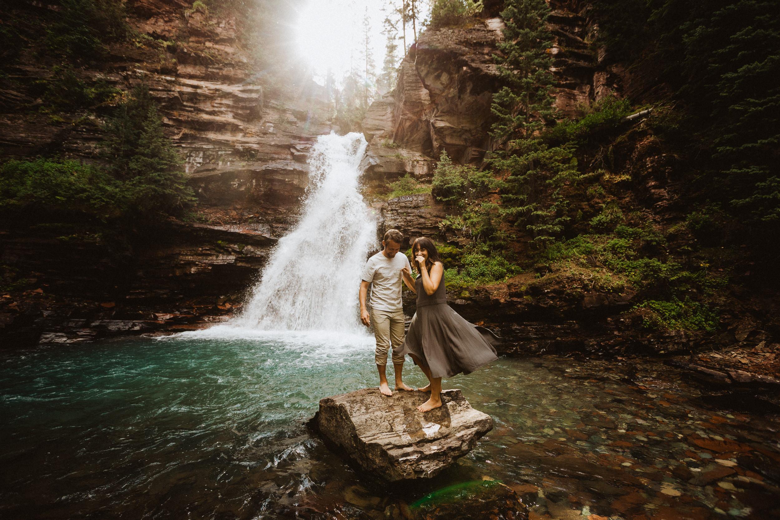 Waterfall in Silverton, Colorado