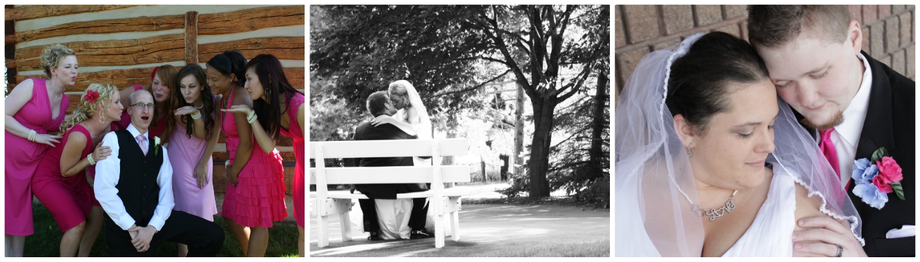 Pretty soon a few couples even hired me to photograph their weddings.
