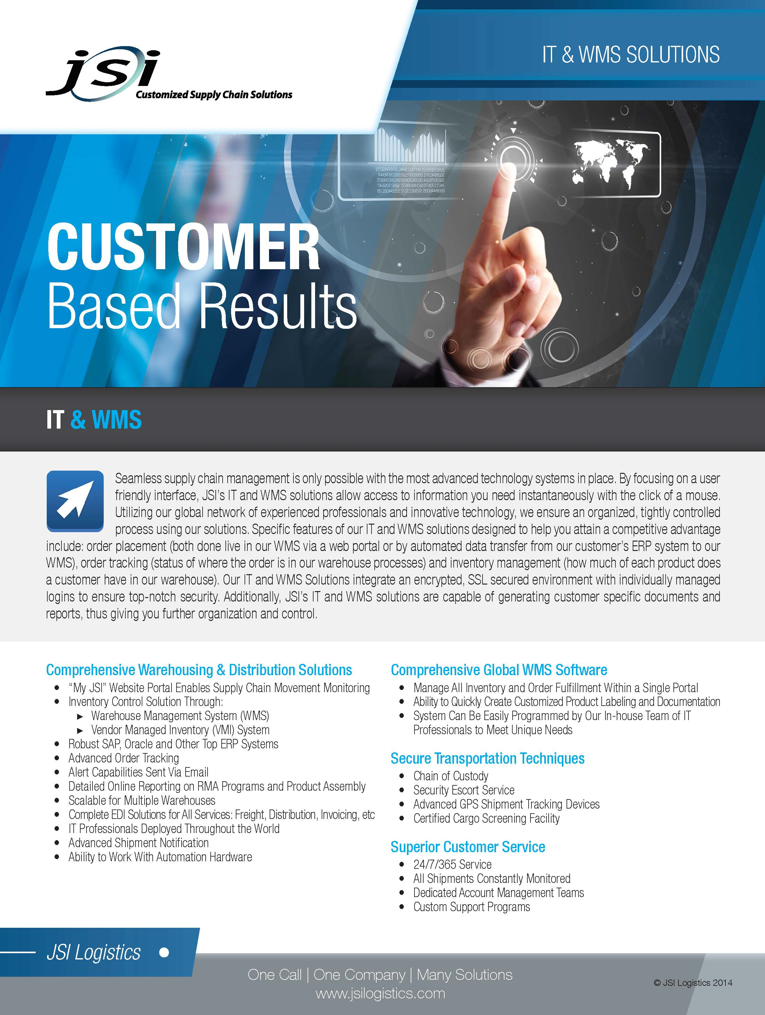 IT & WMS Solutions Flyer