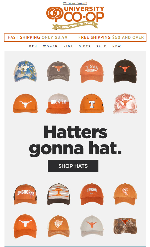 Hatters Gonna Hat Email