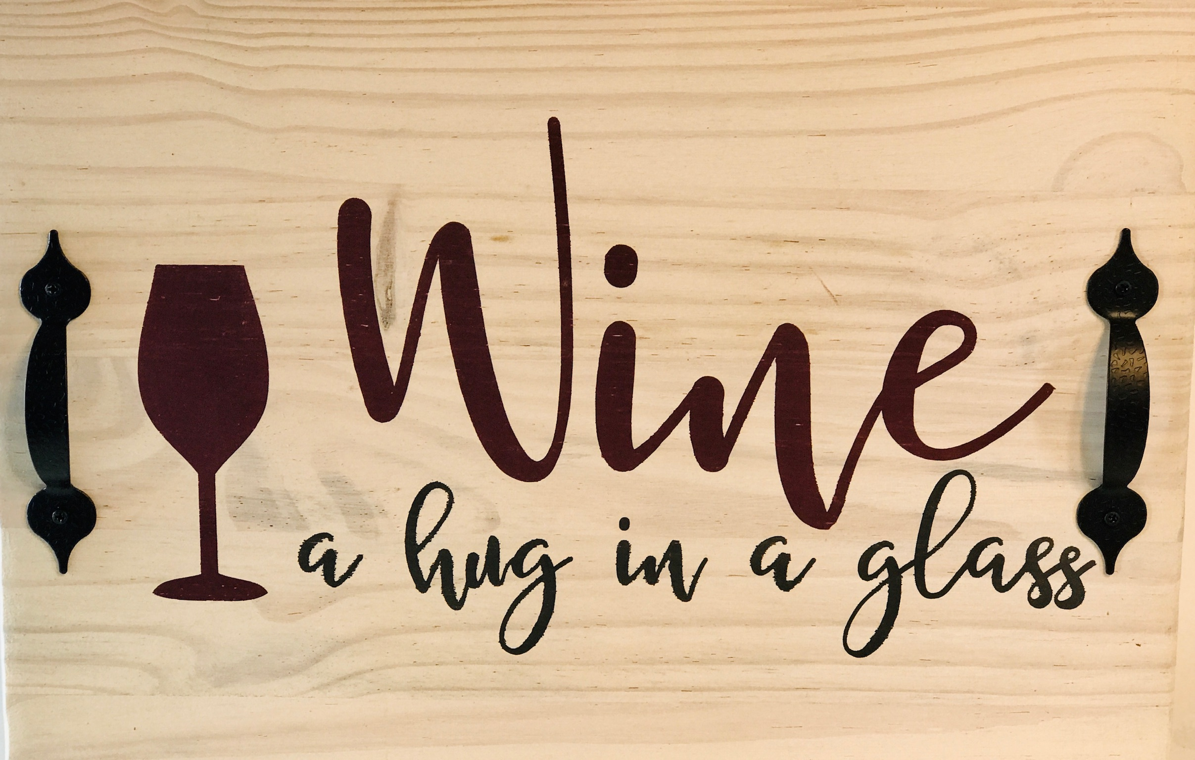 Wine — a hug in a glass