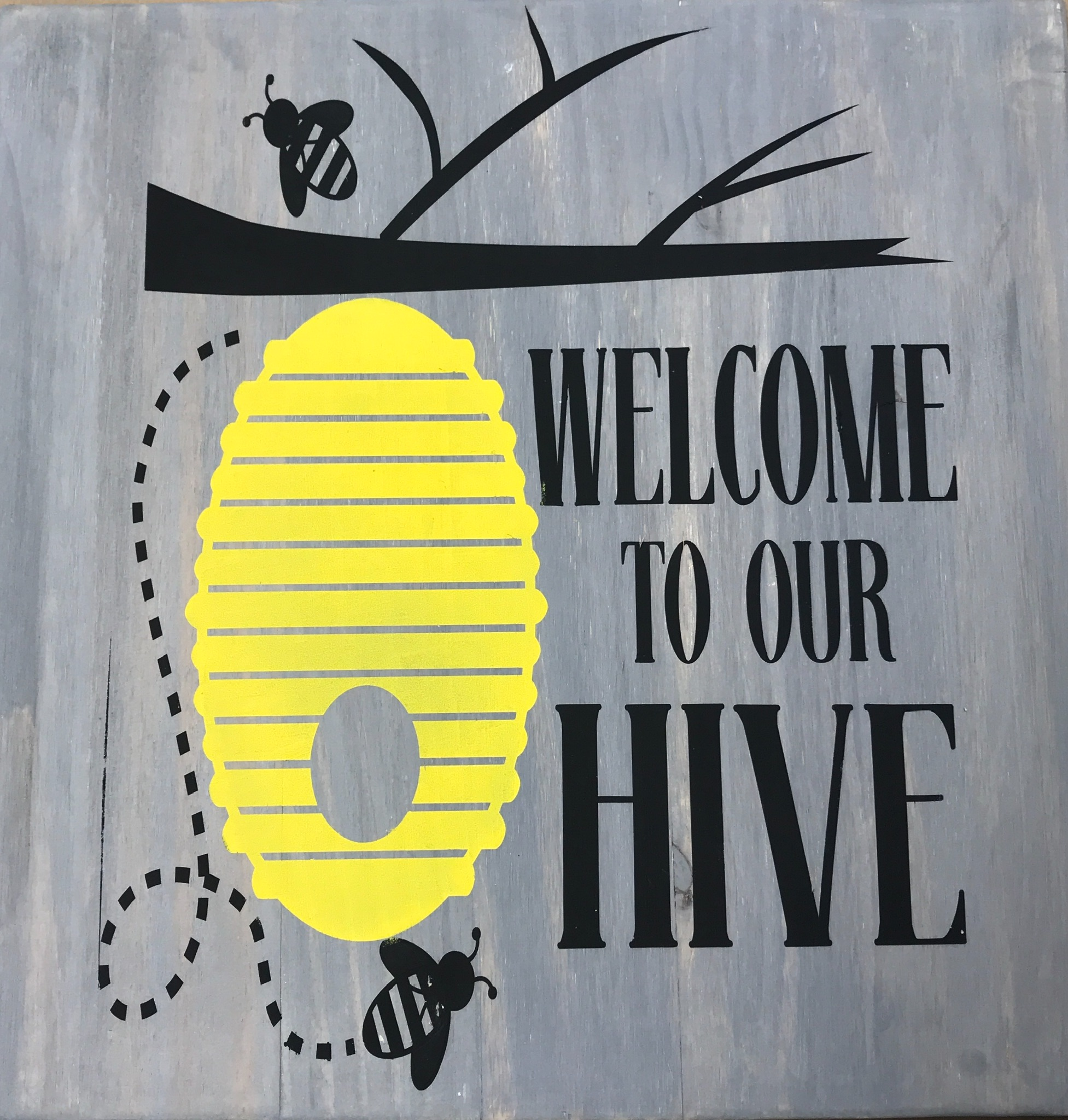 Welcome To Our Hive