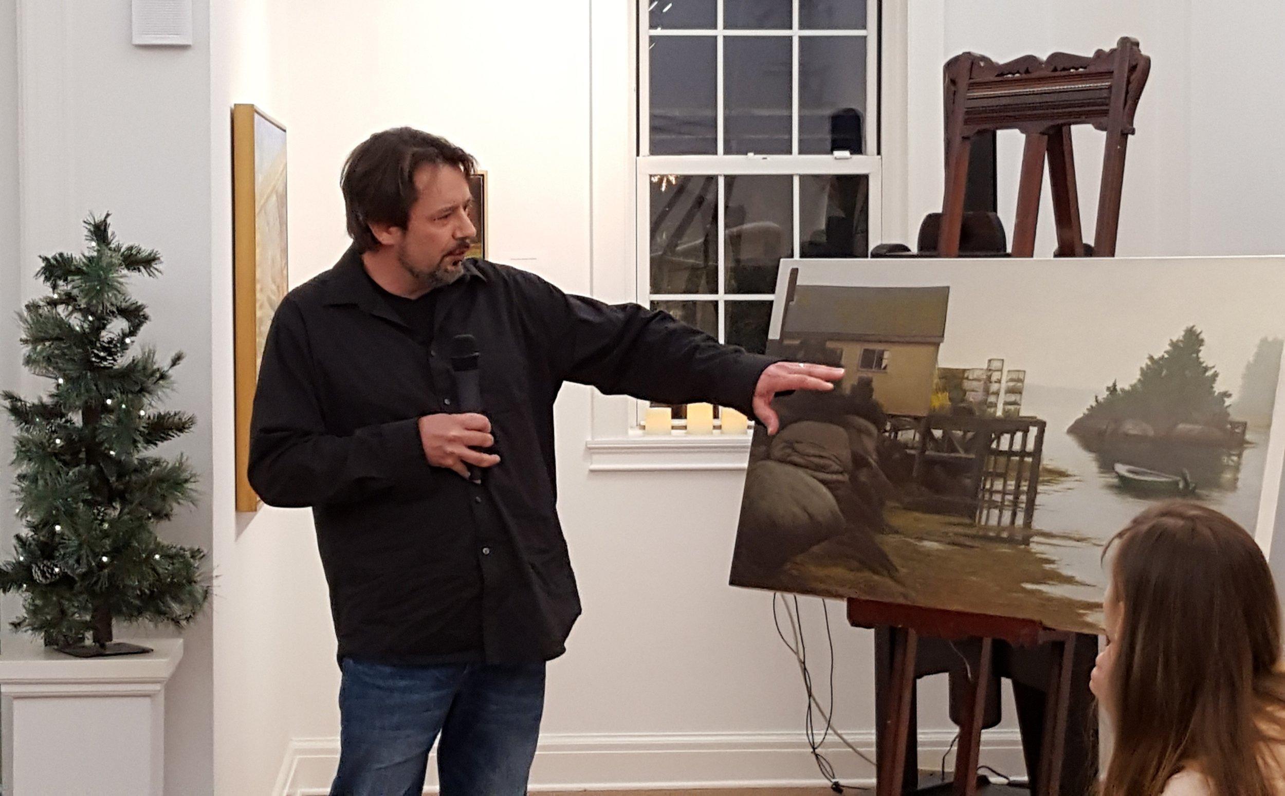 Artist Jim Molloy